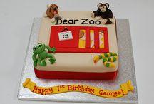 Dear Zoo Birthday Cake