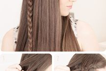 Allegra's hair styles