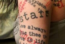 Tattoo Ideas / by Candice Durham