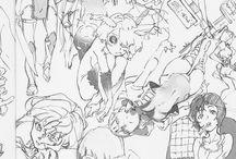 Sketch/ink/designs