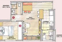 Apartamento e Casa pequena