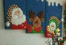 cuadro de navidad