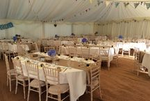 Summer 2015 / A great way to look how your marquee will look - just  a few ideas - just imagine what you can do