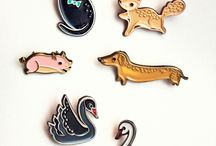 enamel pins and lapel pins / enamel pins, lapel pins.  Show your pingame!