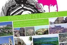 Depliant and handbook about Basilicata region / Discover Basilicata with touristic depliants and handbooks