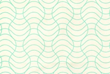 Pattern / Fabric, wallpaper... all things in repeat baby.
