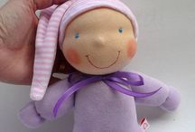 Waldorf baby dolls