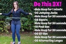 Hula Hoop Exercises