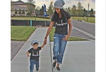 Mom and son dresses