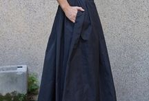 Jupe et robes maxis