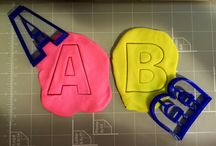 Letters and Numbers Cookie Cutters