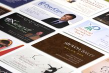 Business Card Design / A collection of business cards.