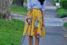 Ways to Wear | Yellow Skirt