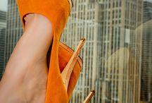 Orange heels