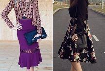 Saia Midi / Saia Midi | Midi Skirt http://caroldoria.com/2015/04/tendencia-saia-midi/