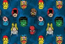 Crimefighters and Superheroes / Fabric for the Hero in all of us!