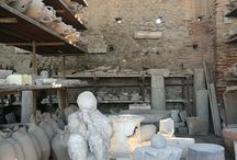 Pompeii, Italy......actual people frozen in time from the…