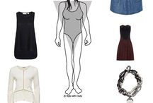 Body & Face Shape Dressing Tips / Tips on dressing for your body shape