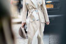 coat / стильные сочетания с пальто