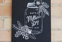 Chalkboard art