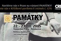 Exhibition Památky 2015