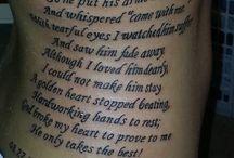 tattoo memorial