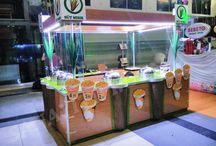 kiosk standı
