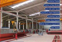 Çelik Konstrüksiyon / Çelik Konstrüksiyon, Çelik Yapı İnşaat, Steel Construction Buildings