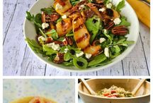 {Food} Salads / Here are recipes for some of my favorite salads. When you want a lighter meal or don't want to heat up the house, opt for one of these salad recipes.