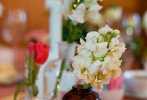 centerpiece ideas. / Pictures of Pomeroy Farm wedding centerpieces as long as inspirations for YOUR Pomeroy Farm wedding.