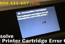 Call 1-800-431-457 to Fix HP Printer Cartridge Error