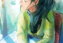 Illustration manga