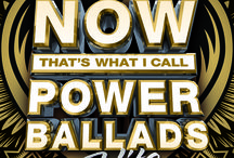 NOW Power Ballads Hits / Bon Jovi to Boston, belt your heart out to these '80s Power Ballad Hits! Available in stores and online on February 5, 2016! / by Now That's Music!