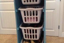 laundry and garage ideas..