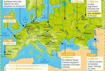 carte geographie europe