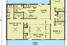 House Plans Under 1300 sq'