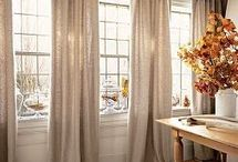 Window treatments...
