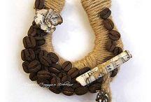 Dekorace z kavy