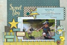 Boy Layouts / by Henderson Scrapbooking