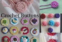 chrochet buttons