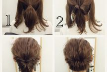 Self hairarrange ✿('ᵕ‵*ॢ)