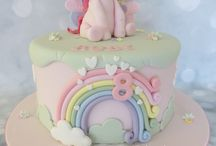 pony /unicorn cake