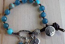 gemstones bracelet / Handmade gemstones bracelet