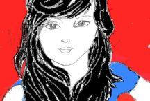 My arts / Alguns trabalhos meus envolvendo pintura, ilustrações manuais e/ou digitais