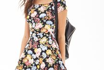 Dressing Up / Dresses, dresses, and more dresses. I love the ones that cinch at the waist and flare out.