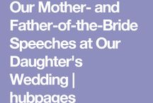 Wedding speech for mother and father