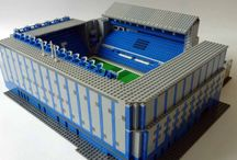 Lego Stadiums / Pictures of stadiums built out of #lego