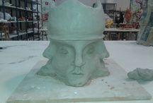 Proyectos Escultura I / Todos los trabajos realizados durante el curso en la asignatura: Escultura I