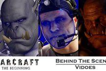 Behind the scenes videos of Warcraft movie