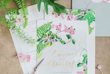 Tropical Chic Wedding